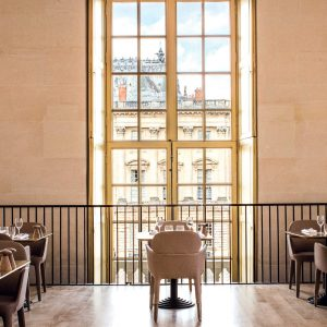 Alain Ducasse' Café at Versailles Palace