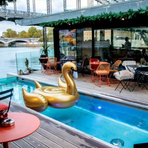 A Floating Hotel in Paris