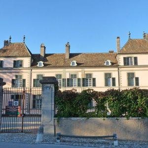 Le Château de Coppet in Geneva