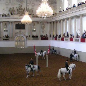 The Spanish Riding School in Vienna