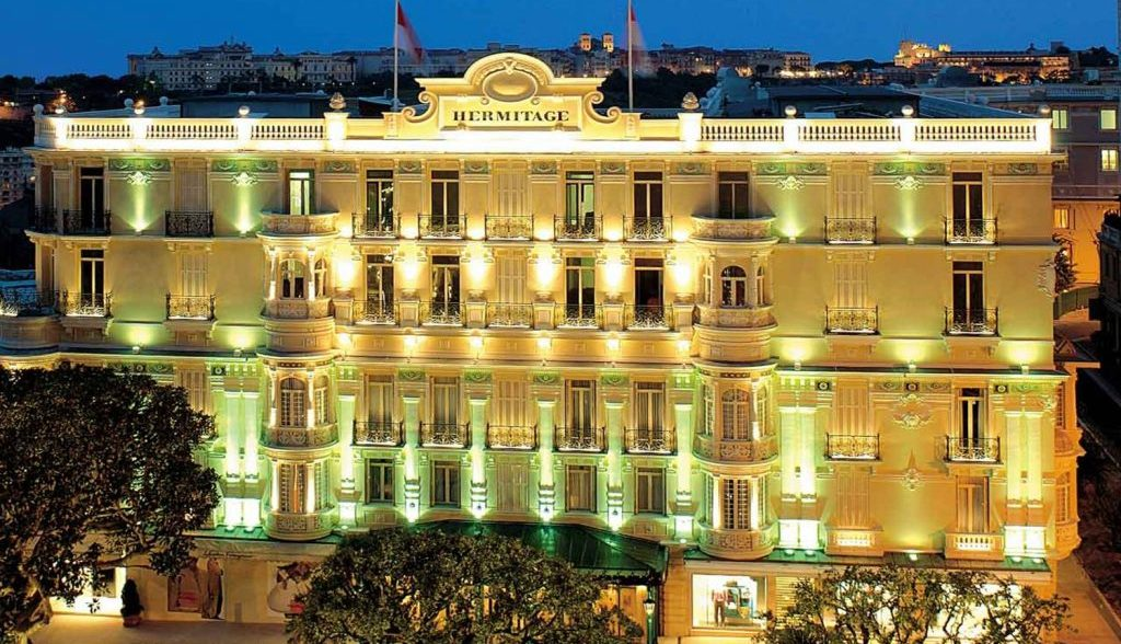 The Grill, located on the top floor of Hotel de Paris