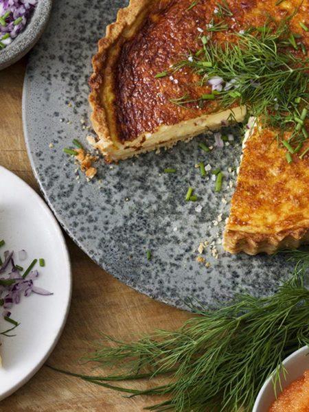 Västerbottensost cheese pie