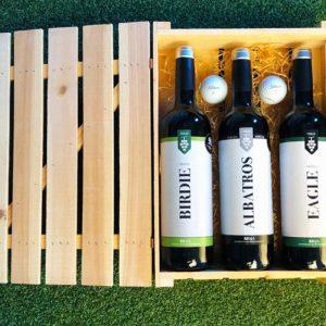 Golf & Wine Gift Box