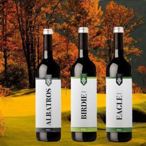 Golf & Wine Box