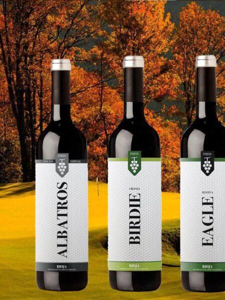 Golf & Wine Box